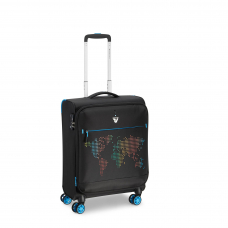Маленький сверхлегкий чемодан с расширением, ручная кладь Roncato Lite PRINT 417260/01