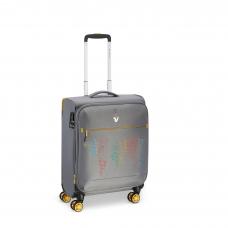 Маленький сверхлегкий чемодан с расширением, ручная кладь Roncato Lite PRINT 417260/02