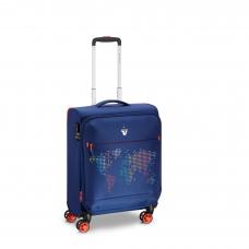 Маленький сверхлегкий чемодан с расширением, ручная кладь Roncato Lite PRINT 417260/03